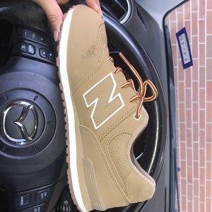 New balance Camel Khaki shoes